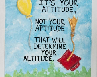 "10 )  "" Attitude "" Quote"