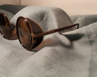 Steampunk Glasses - Brown and Bronze