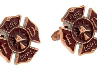 Preferred Fireman cufflinks | Etsy KB04