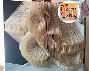 Mr. & Mrs. Folded Book Art Pattern