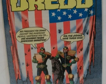 Eagle Comics  Presents Judge Dredd #6 April VG-VF Judges Take Over USA   Unread  Vintage Comic Book 1984