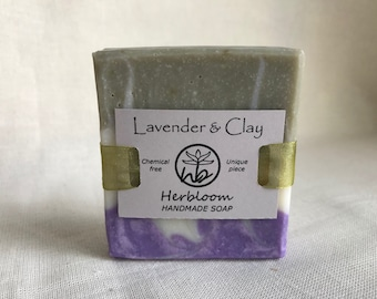 Lavender & Clay Soap