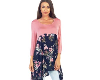 Style By Chris basic shoulder contrast top