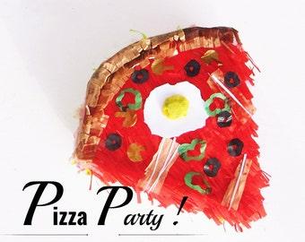 Piñata Pizza party - pinata