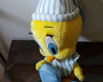 Looney Tunes Bedtime Tweety Bird Plush