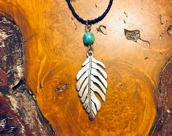Feather Blues Necklace