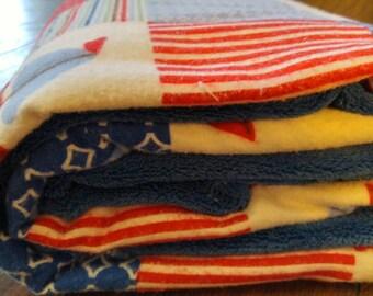 Sail Boat blanket