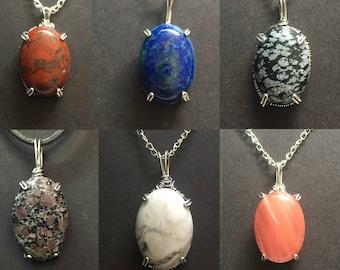 Wholesale pendants etsy wholesale stone pendants mozeypictures Gallery