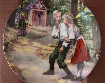 1984 Hansel & Gretel 3rd Issue Grimms Fairytale Collection Plate