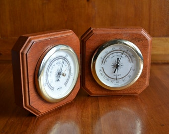 Vintage Swift Weather Station Barometer/Thermometer/Hygrometer