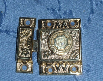Victorian styled Solid Brass Cabinet Latch