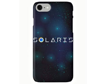 Solaris, funda para iPhone X, 8, 8 Plus, 7, 7 Plus, Iphone 6, 6s, 6 Plus, 6s Plus, 5/5s/SE, 5c, 4, 4s, science fiction, funda iphone