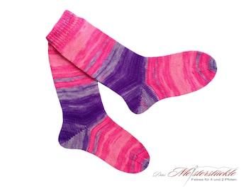 Size 37-38 socks handknit neon socks wool socks wool socks
