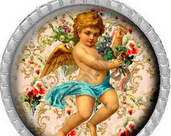 Pendant Cabochon - little angel (454)