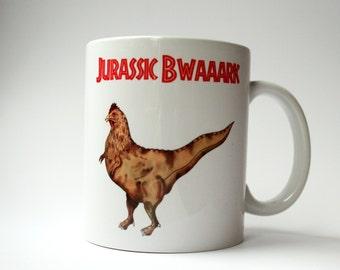 Jurassic Bwaaark Mug