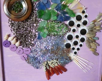 Fish Mosaic Collage