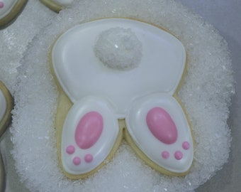 Bunny Tail sugar cookies
