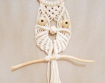 Macrame OWL decoration