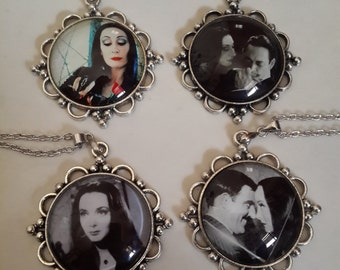 Addams Family Necklace