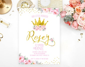 Princess invitations etsy princess birthday invitation filmwisefo