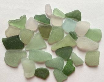 Genuine Sea Glass, Bulk Sea Glass, Beach Glass, Sea Glass for Crafts.
