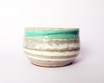 Ceramic Large Serving Bowl, Large Ceramic Soup Bowl, Handmade Pottery Bowl