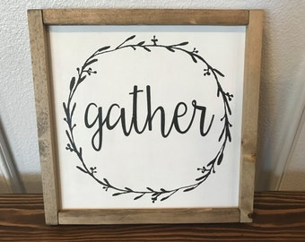 Gather Signs