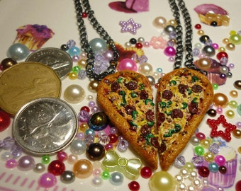 Pizza Slice BFF Necklaces