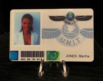 Doctor Who - Martha Jones UNIT ID Card