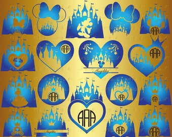 60% OFF, Сastle SVG Princess Castle Svg Mickey Mouse Head Heart Decal Monogram Png Eps Dxf Vinyl Cut File Silhouette Download Vector Party