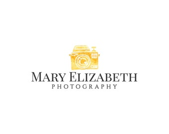 Custom Logo, Photography Logo, Premade Logo, Logo Design, Business Branding, Pre-made Logo, Logo, Gold Photography Logo