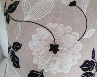Floral cushion cover 16 inch