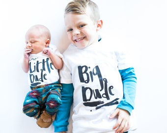 Brother Shirts. Big Brother Little Brother. Big Brother Announcement Shirt. Big Brother Tshirt. Coming Home Outfit Newborn Monochrome Black