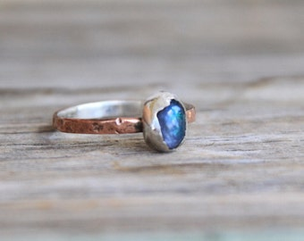 Popular raw Tanzanite Ring by Immeryours