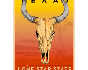 Texas Longhorn Framed Art Print