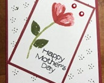 Happy Mother's Day Blossoming Greeting Card