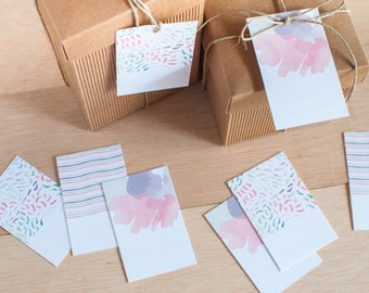 Digital gift tags kit, printable, gift tags ready to print, instant download, gift labels, digital gift labels ready to print