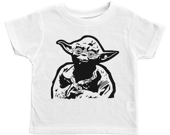 Boys Yoda Tee, Star Wars Shirt, Yoda Kids Tshirt, Star Wars Kids Tee, Yoda Toddler Shirt, Star Wars Baby, Yoda Baby Tee, Star Wars Tee, Yoda