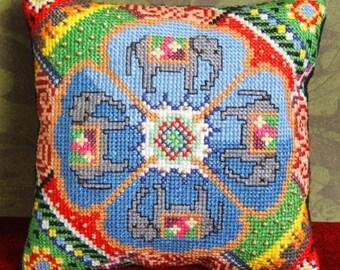 Indian Treasure Mini Cushion Cross Stitch Kit
