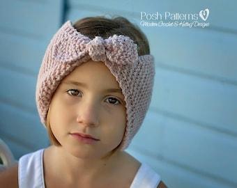 Knitting PATTERN - Knit Headband Pattern - Knit Ear Warmer Pattern - Includes Baby, Toddler, Child, Adult Sizes - PDF 392