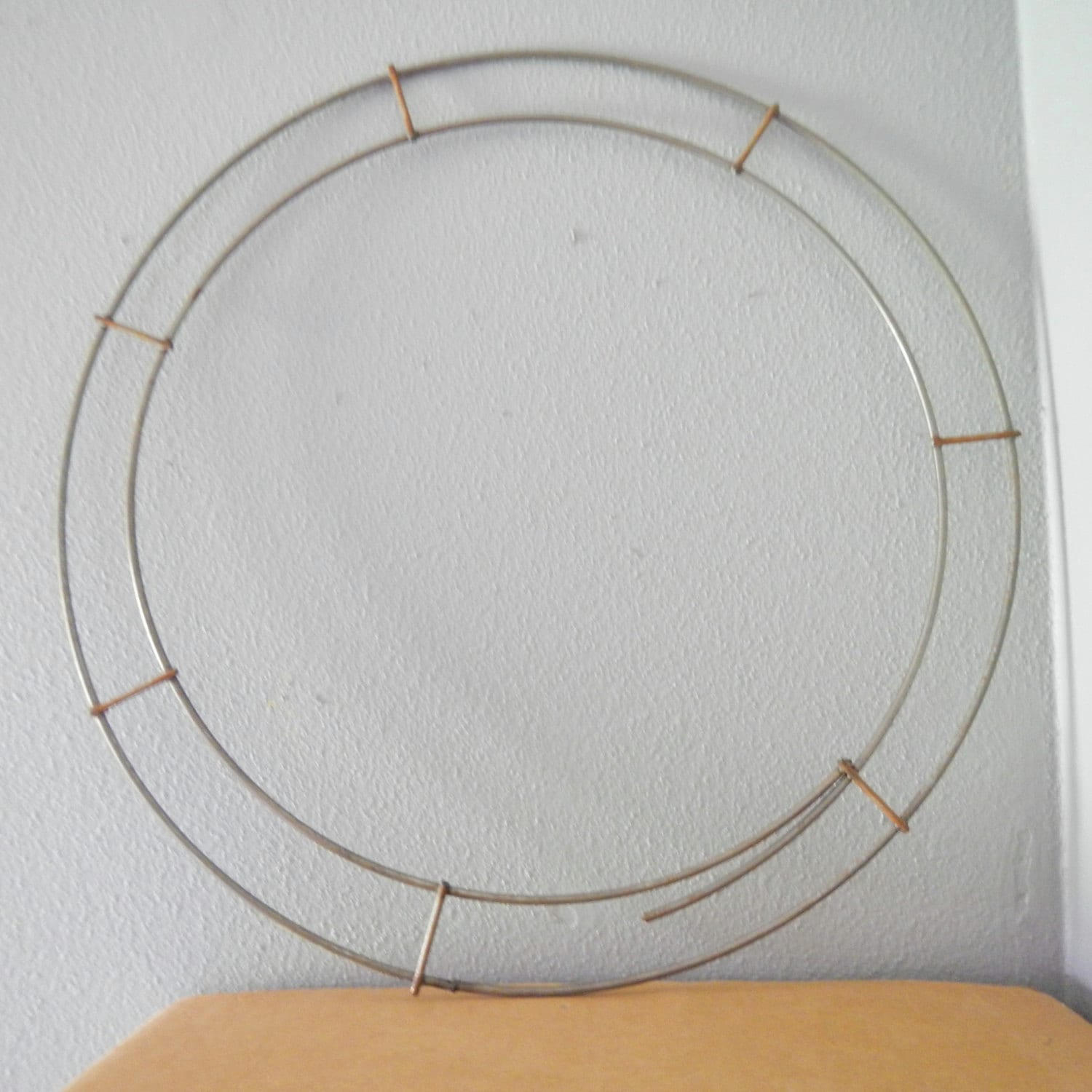 """Double Ring Wire Frame - 14"""" diameter - 1 pc - #DBL14 from ..."""