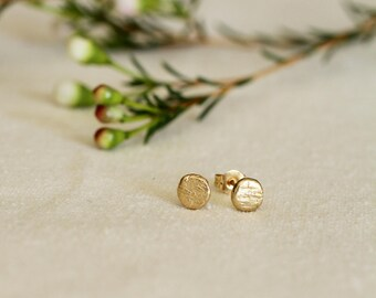 Birch Texture Earrings