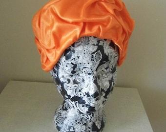 1960s Orange Hat