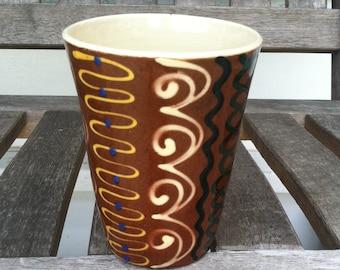 Pottery Tumbler