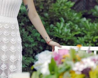 MADE TO ORDER  Crochet Dress  custom made, hand made, crochet