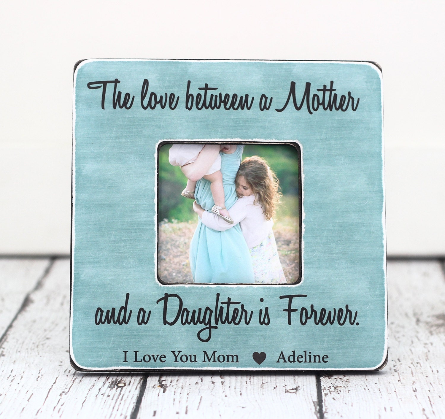Mom Gift Picture Frame Personalized Gift for Mom Mother The
