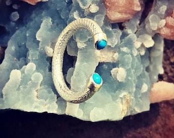 Sleeping Beauty Arizona Turquoise Ring. Silver 950