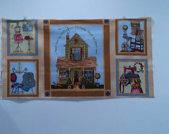 A Quilter's Home With Coordinating Fabric