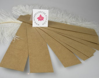 """Kraft Recycled Belly Bands 