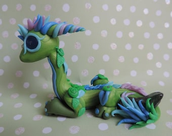 Green flower dragon